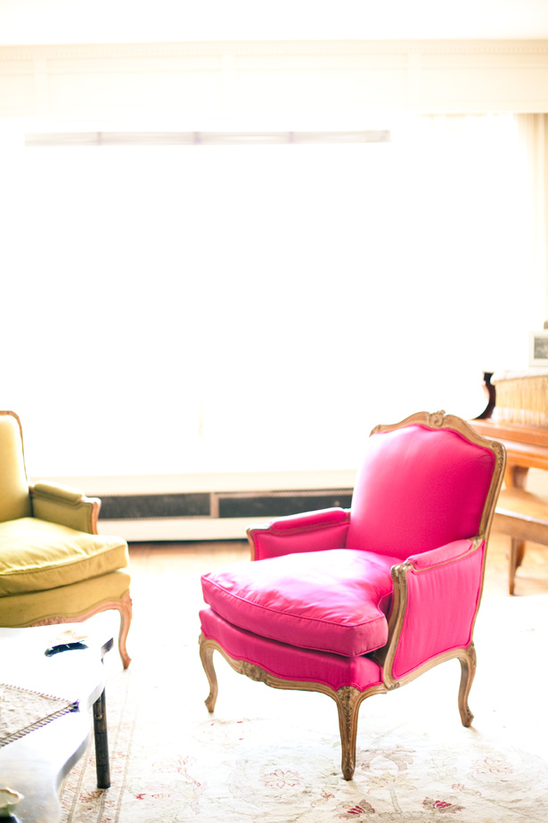 Think pink victoria mcginley studio for Chaise candie life