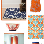 Palette Play: Orange and Blue
