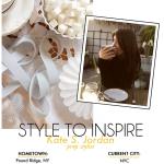 Style to Inspire: Kate Jordan