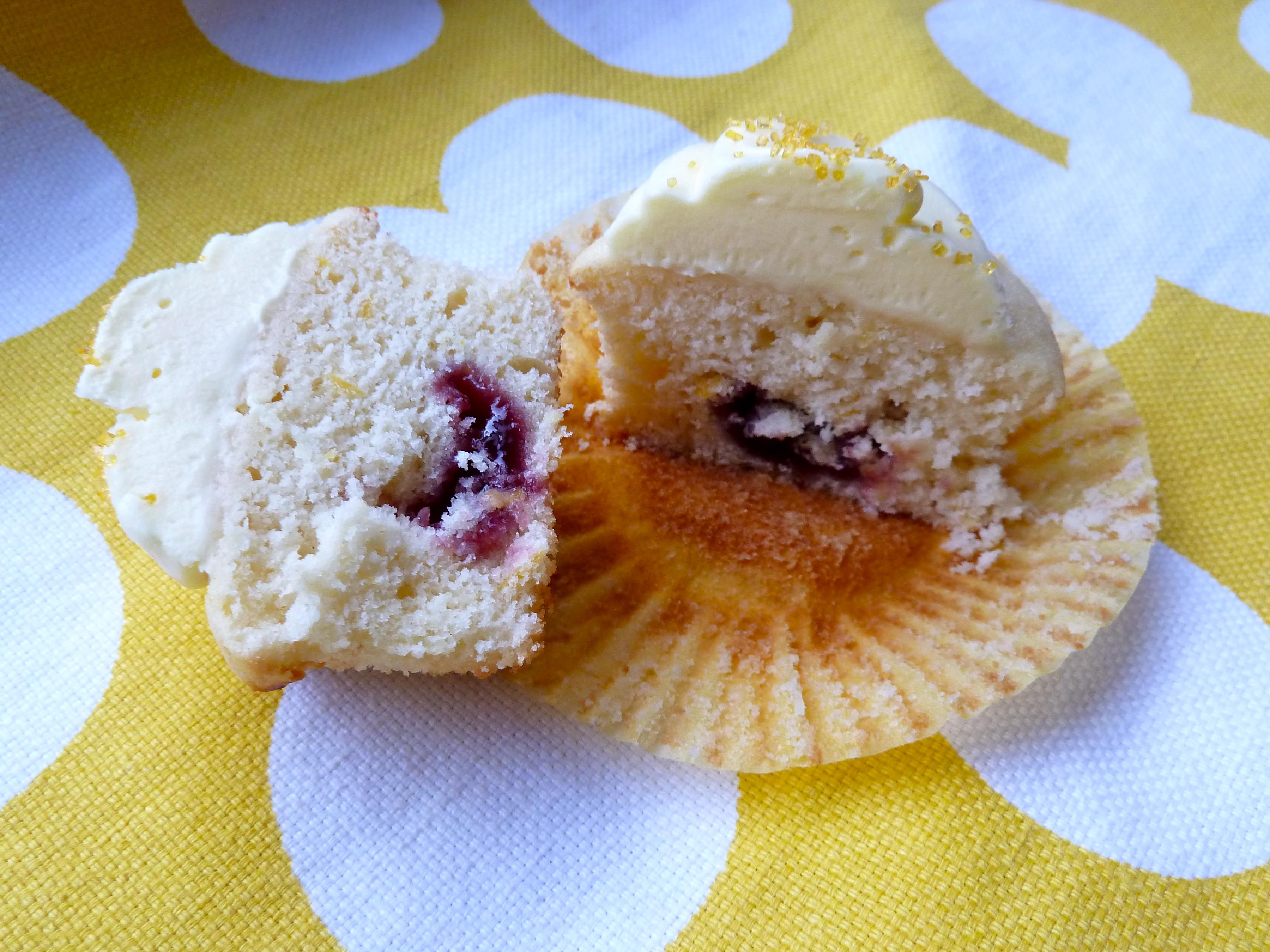 Recipe: Raspberry Lemon Cupcakes - Victoria McGinley Studio