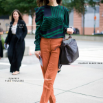 Get the Look: Pumpkin, Navy, and Green