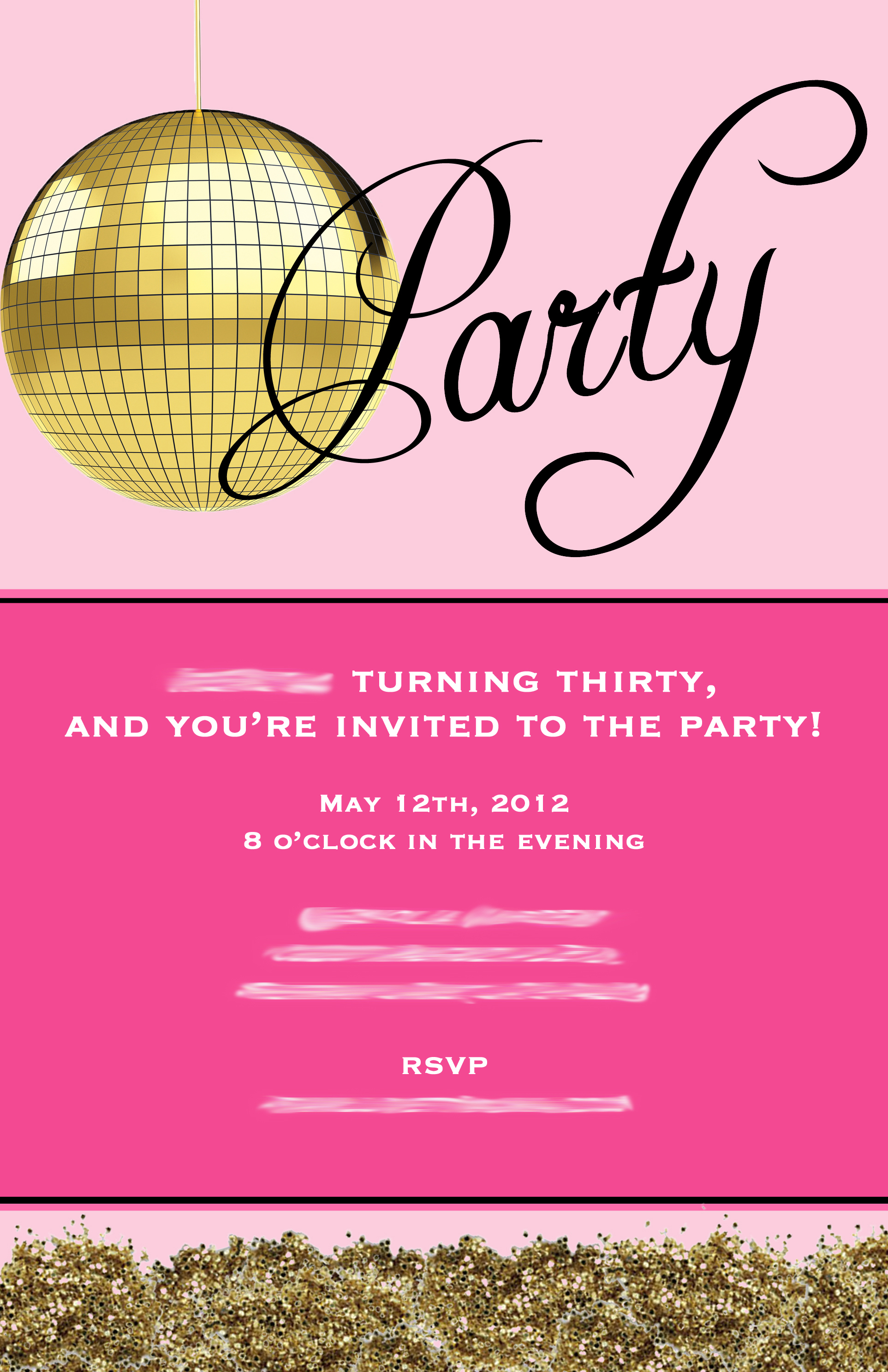 30Th Invite Wording is beautiful invitations layout
