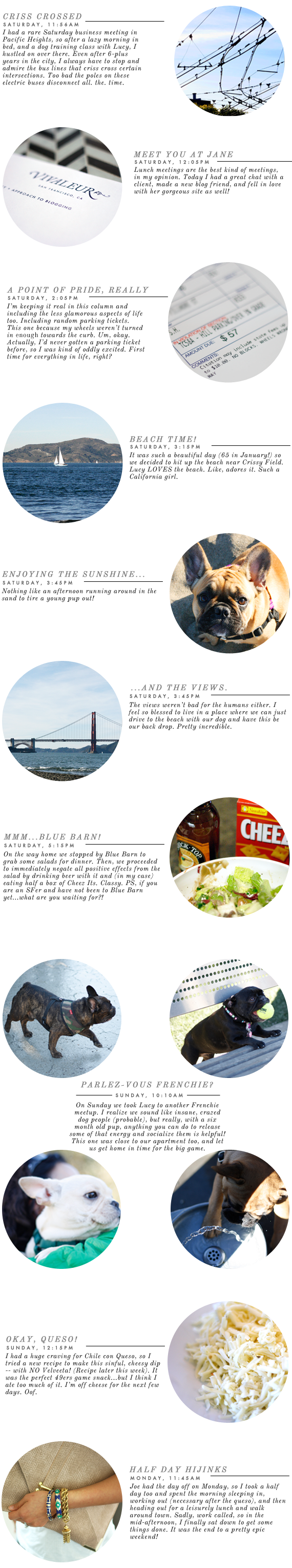 a day in the life | via vmac+cheese