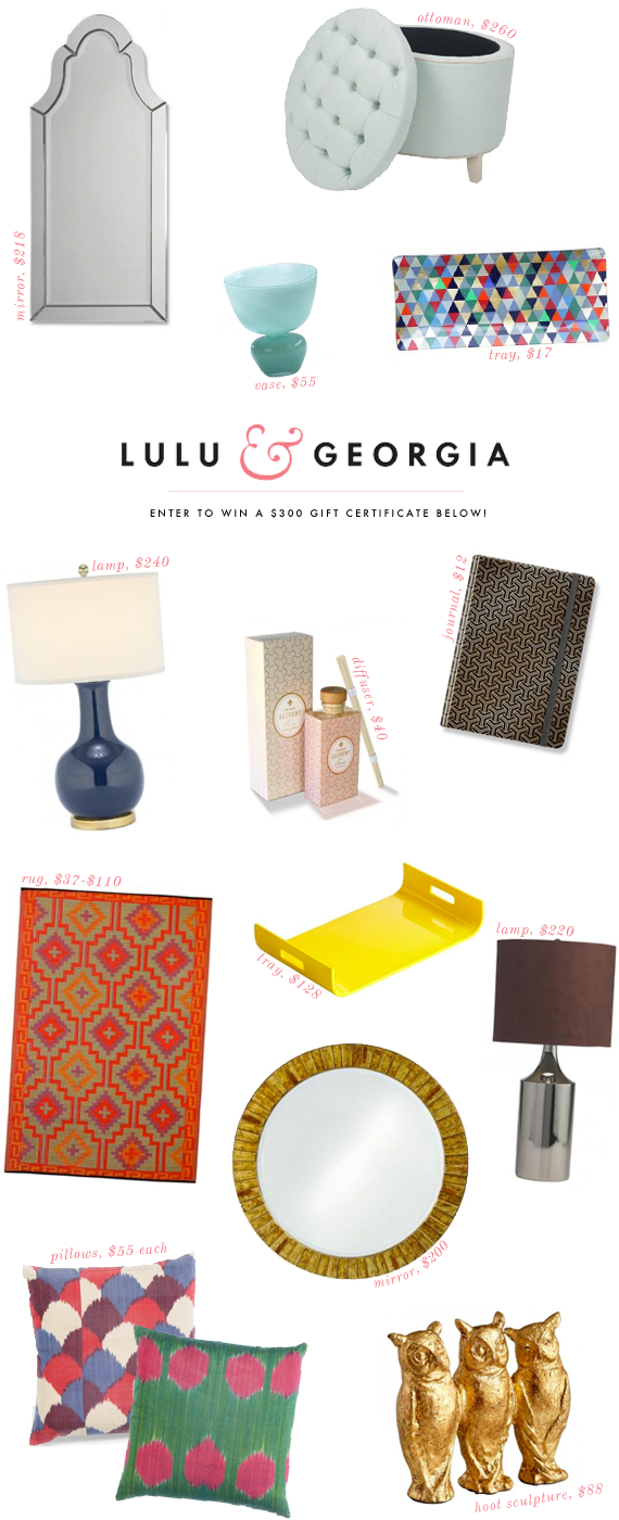 lulu & georgia giveaway | on vmac+cheese