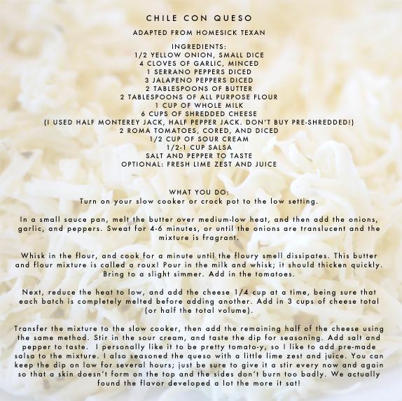 velveeta free chile con queso
