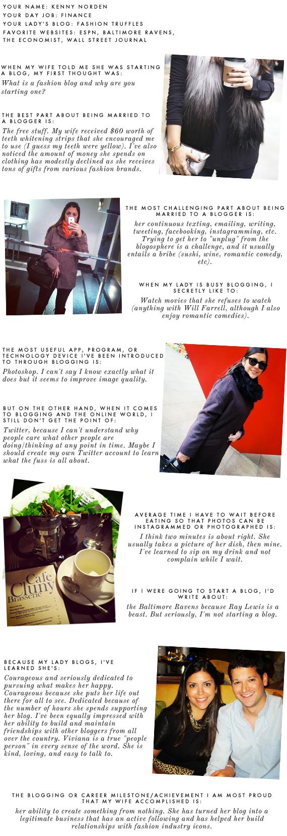 man behind the blog - fashion truffles | via vmac+cheese