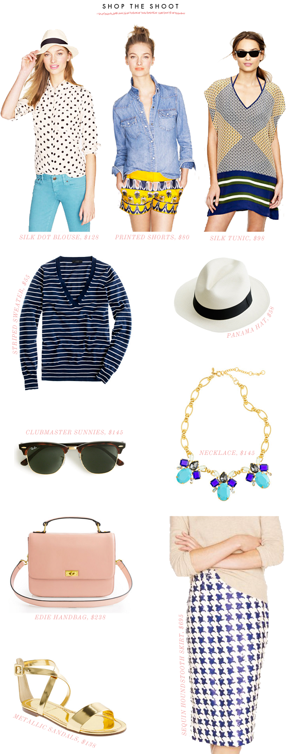 shop the shoot (j.crew) | via vmac+cheese