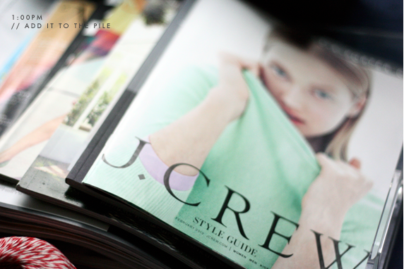 jcrew catalogs | via vmac+cheese