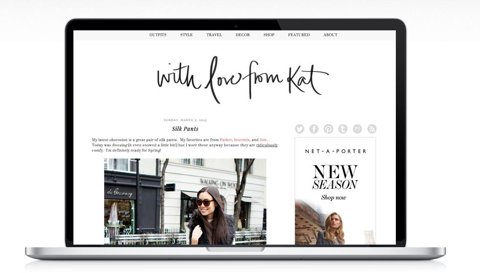 Blog Design With Love From Kat Victoria McGinley Studio