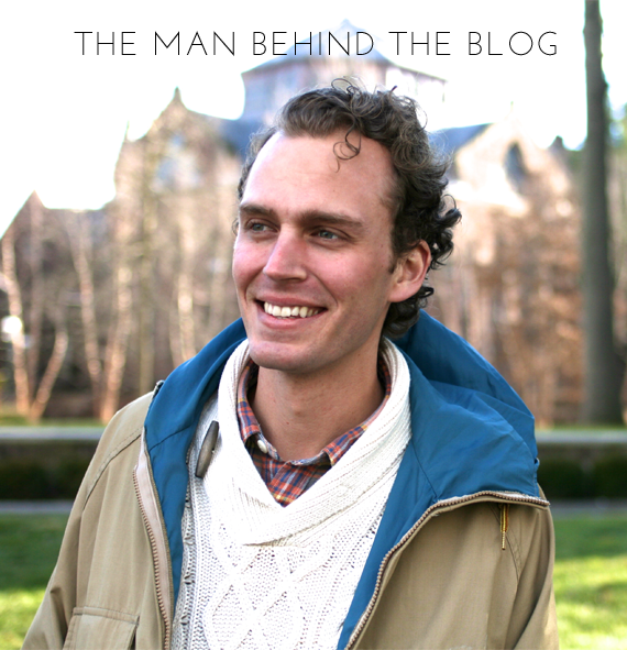 style and pepper - man behind the blog | via vmac+cheese