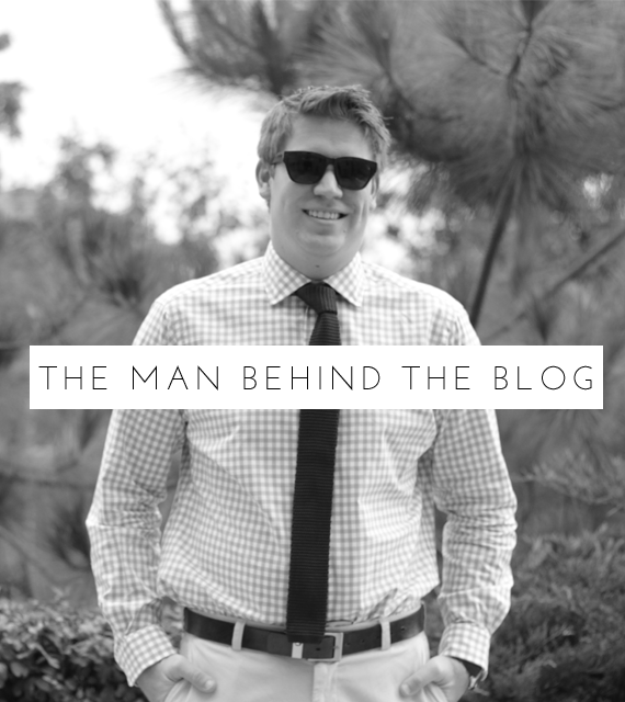 man behind the blog