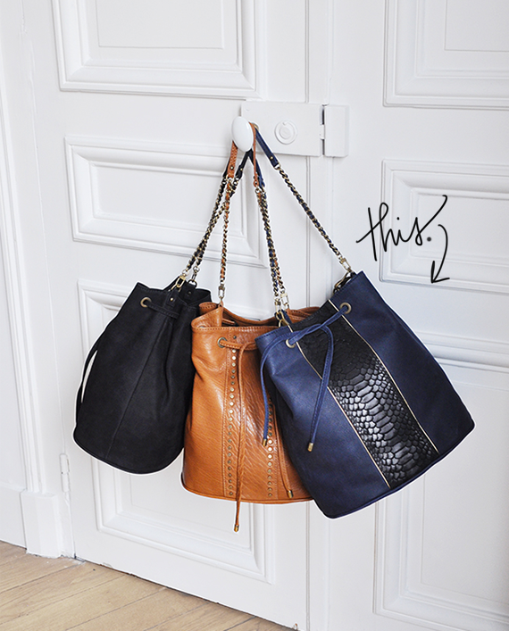 hope purse from sezane | via vmac+cheese
