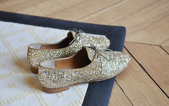 glitter shoes | via vmac+cheese