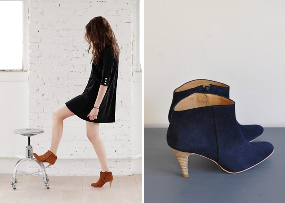 boots from sezane | via vmac+cheese