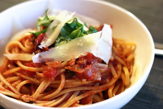 Recipe: Pasta all'Amatriciana - Victoria McGinley Studio
