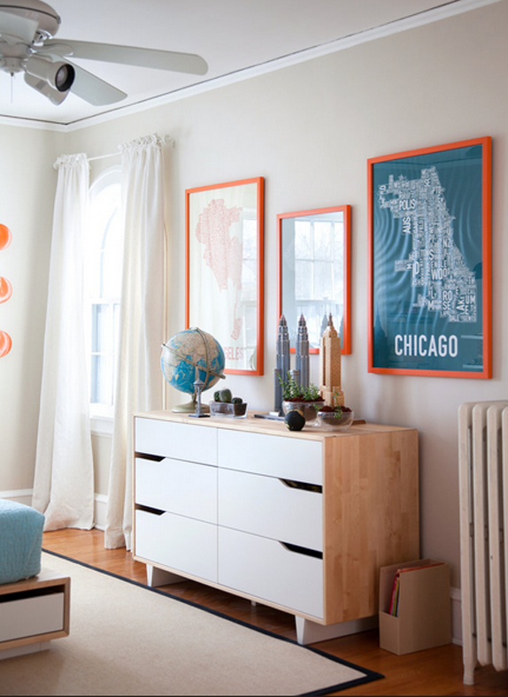 orange bedroom 2