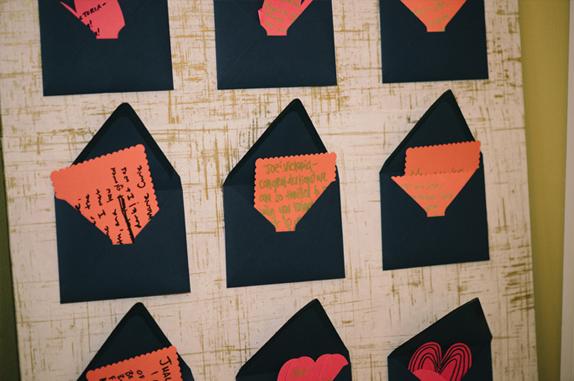 'guest book' board | DIY by vmac+cheese