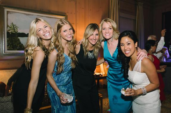 bloggers at vmac+cheese wedding