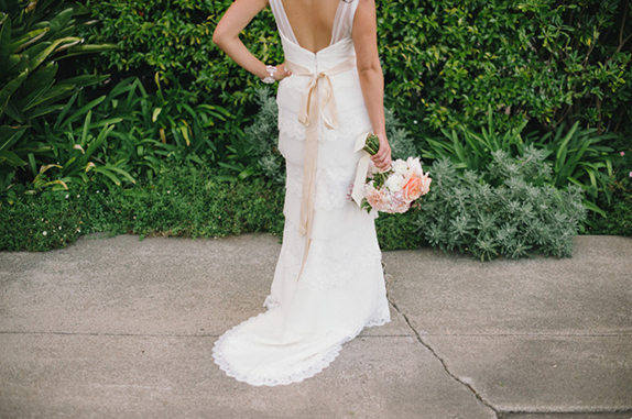 back of wedding dress | dress by amy kuschel, photography by delbarr moradi | via vmac+cheese