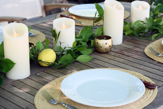 setting a summery table