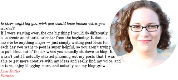 blog advice from elembee | via vmac+cheese
