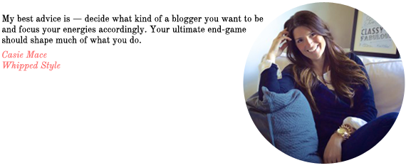blog advice from whipped style | via vmac+cheese