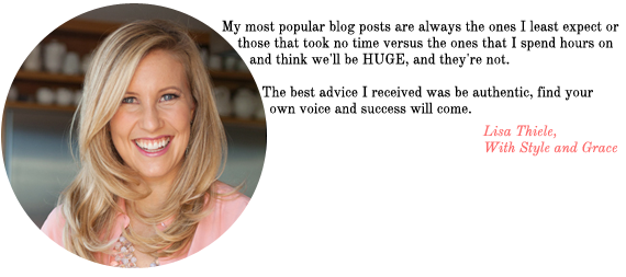 blog advice from with style & grace | via vmac+cheese