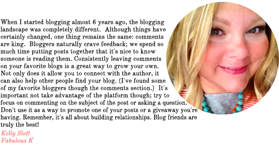 blog advice from fabulous k | via vmac+cheese