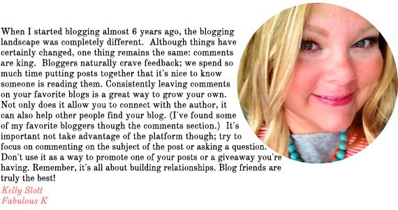 blog advice from fabulous k | via vmac+cheese
