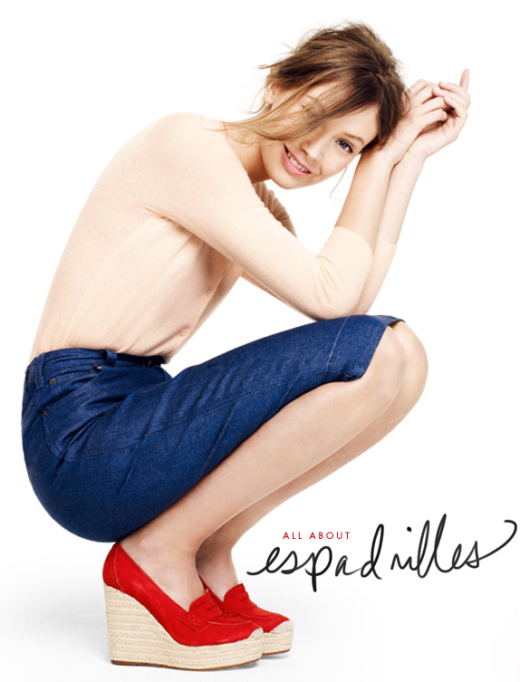 all about espadrilles | via vmac+cheese