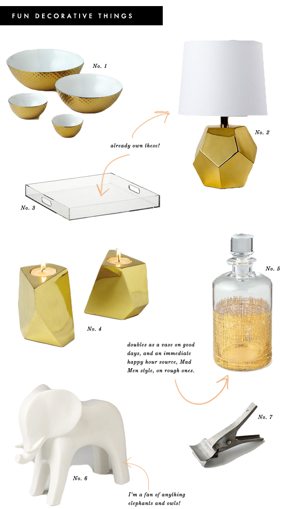 decorative objects for office
