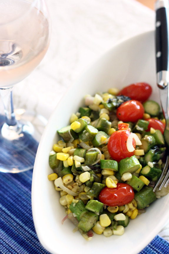 summer succotash recipe | via vmac+cheese