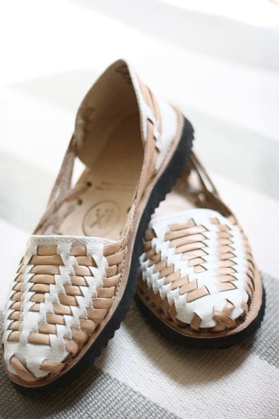 woven huaraches - ix sandals