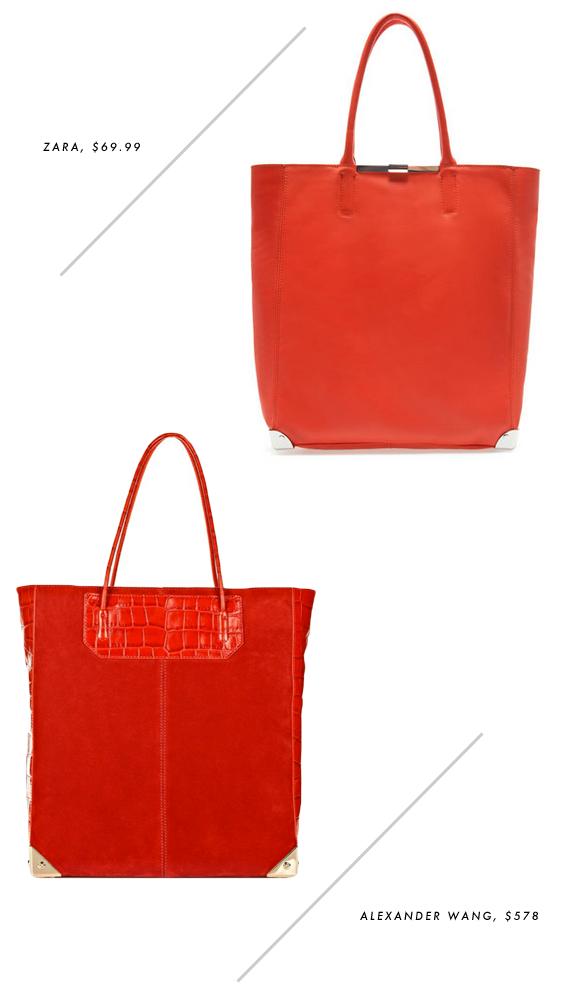 splurge or save - red totes