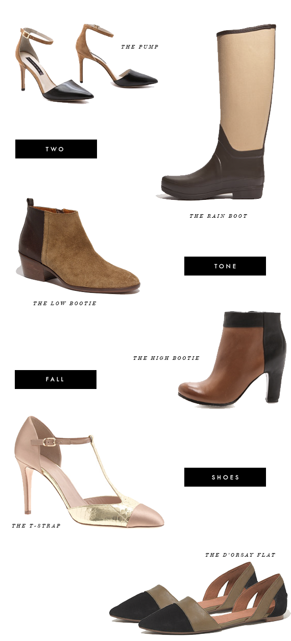 two tone shoes for fall
