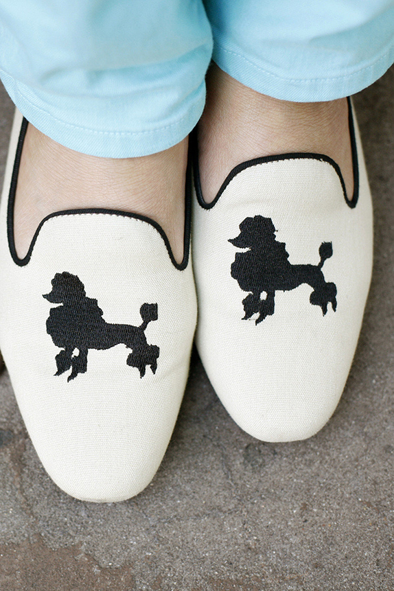 poodle loafers