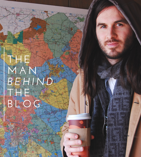 man behind the blog - much to my delight