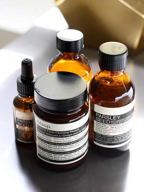 aesop skincare products review