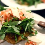 Recipe: Pomodoro Chicken Paillard with Arugula Salad