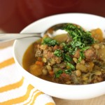 Recipe: Sausage and Lentil Stew
