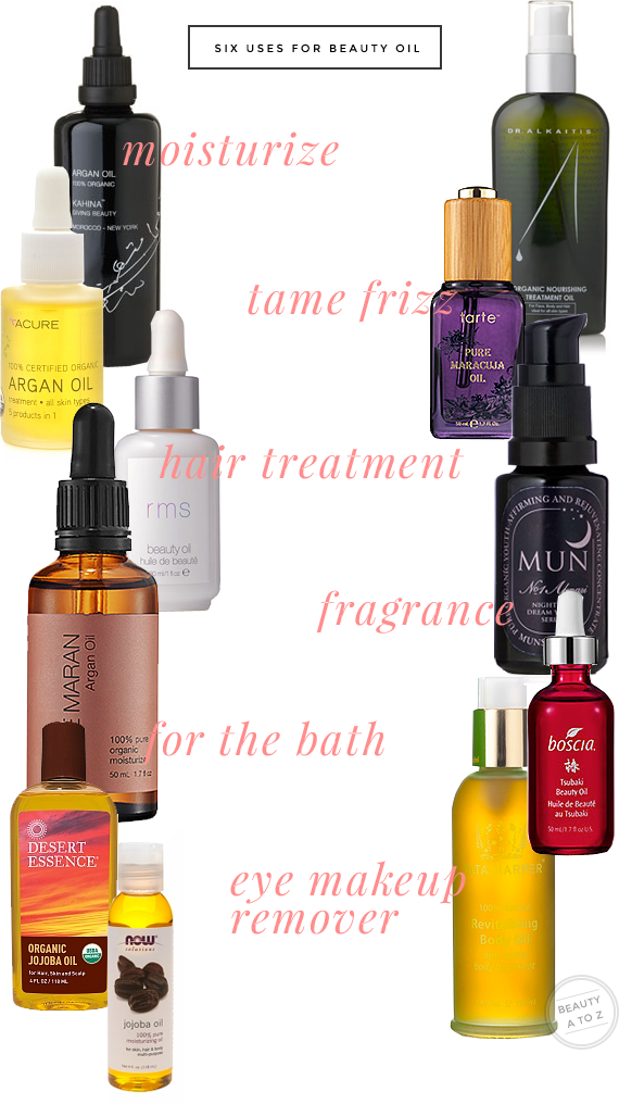 six ways to use beauty and facial oils