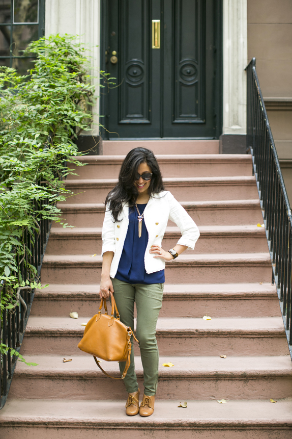 dressy casual outfit for fall