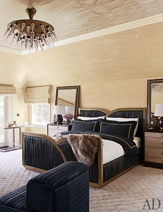 glam bedroom ariane bartosh for kelly wearstler