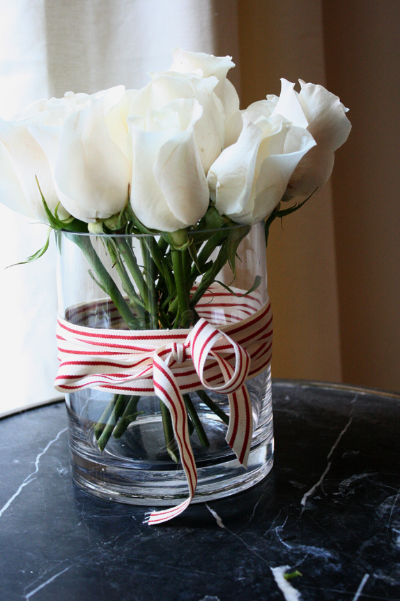 step 5 - easy holiday flowers