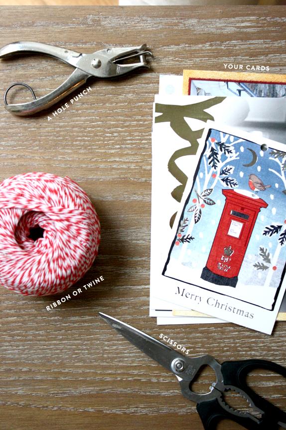 holiday card DIY
