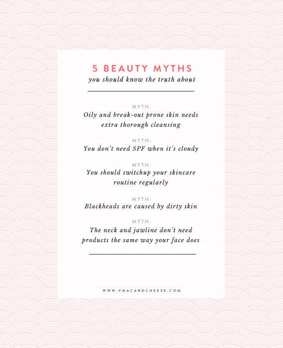 5 beauty myths to know about
