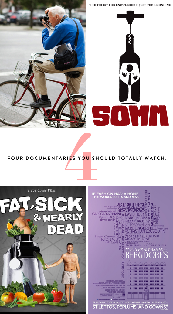 four documentaries to watch
