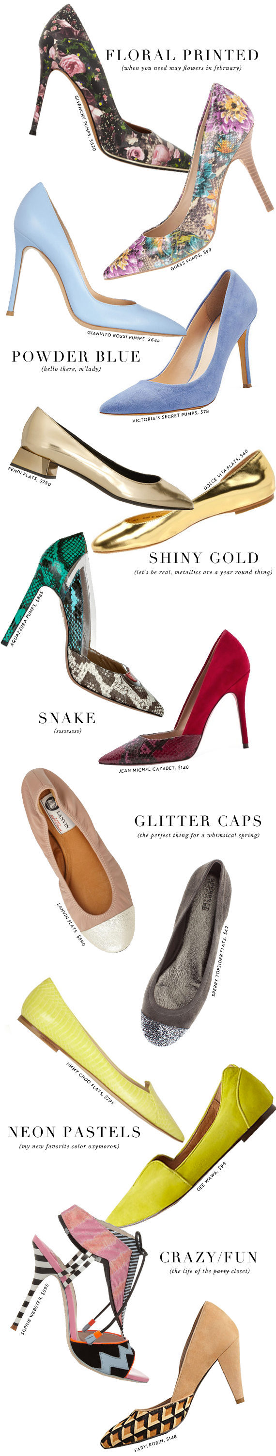 spring 2014 shoes