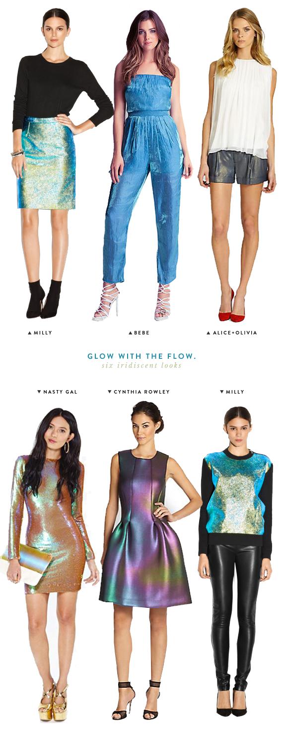 iridescent clothes