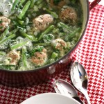 Recipe: Turkey Meatball and Vegetable Soup with Pesto